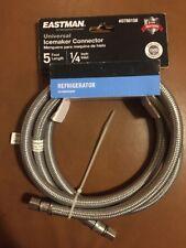 Eastman Universal Icemaker Connector 5 Ft Length 1/4� Inlet Steel Flex #0788158