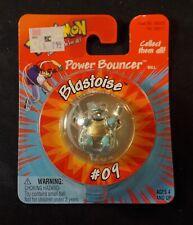 Pokemon Power Bouncer #09 Blastoise 1999 Nintendo Hasbro New Still Sealed RARE