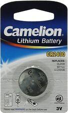 Camelion CR2430 CR 2430 Dl2430 Lithium 3v Battery ORIGINAL