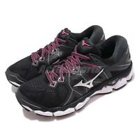 Mizuno Wave Sky 2 Black Pink White Women Running Shoes Sneakers J1GD1802-43
