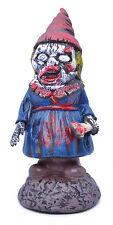 Sanguinoso Zombie #LADY Gnome Horror Decorazione Halloween Festa Accessorio costume di scena