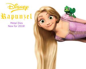 Rapunzel Disney Licensed Metal Dies by Character World 5 designs  RETIRED!