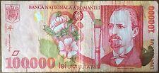 ROUMANIE - 100 000 LEI - 1998 - Billet de banque // Qualité : TB