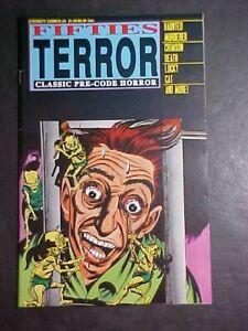 FIFTIES TERROR #3! CLASSIC PRE-CODE HORROR! FN 1987 ETERNITY COMICS