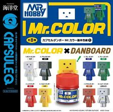 Kaiyodo CapsuleQ Capsule Danboard Mr. Color Basic Color Ver.1 Full Set of 8
