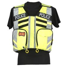 StatPacks G3 Safety Vest Replacement Name Plate - Black Police