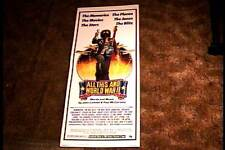 ALL THIS AND WORLD WAR II 1977 ROLLED INSERT 14X36 MOVIE POSTER