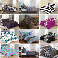 *REDUCED* Complete Duvet Quilt Cover, Pillowcase & Fitted Valance Sheet Bed Sets