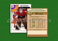 Ken Dryden - Montreal Canadiens - Custom Hockey Card  - 1977-78