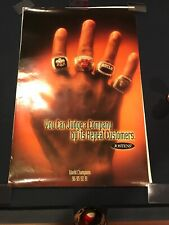 Rare Jordan Chicago Bulls World Championship Ring Poster - JOSTENS Hard To Find