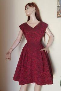 schönes Kleid  original 50er Jahre,  zum Petticoat
