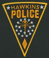 Stranger Things Hawkins Police Dept. (Netflix) Embroidered Patch -new
