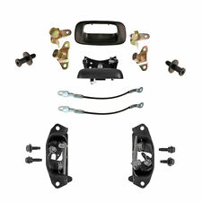 Tailgate Rebuild Kit - 12 Pieces - Bezel, Handle, Cables, Hinges, Latches, Bolts