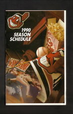 Cleveland Indians--1990 Pocket Schedule--Executive Caterers
