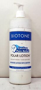 Biotone Cooling Pain Relief Polar Lotion Advanced Action W/Menthol 16 Ounces