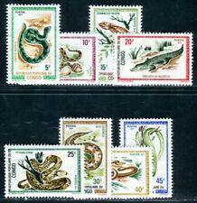 CONGO 1971 291-298 ** POSTFRISCH TADELLOS REPTILIEN 22€(F4818