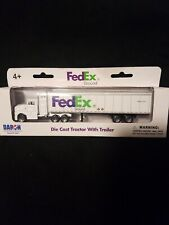 Daron RT1037 FedEx Ground Tractor Trailer Diecast Metal Truck 1/87 Scale Model