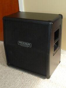 Mesa Boogie Mini Rectifier 60 watt Black Slant Cabinet 8 Ohm .