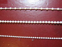 Roller,Vertical, Roman Blind Bead / beaded Ball side Chain Plastic & Connector