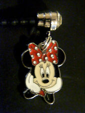Minnie mouse Bow  cell phone charm plug dust