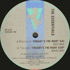 THE ESSENTIALS - Tonight's The Night - 1990 R & S Records - Belgium - RS 918