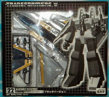 TRANSFORMERS TAKARA JAPAN  E-HOBBY BLACK VARIANT  STARSCREAM FIGURE MISB