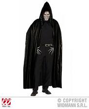 Drácula Vampiro Capa Negro Con Capucha, hombre
