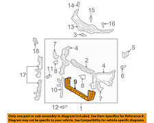 TOYOTA OEM 07-16 Camry Radiator Core Support-Lower Tie Bar Bracket 5710407022