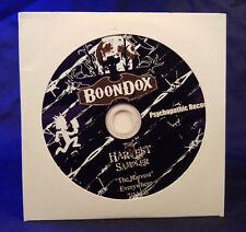 Boondox - The Harvest Sampler CD twiztid insane clown posse psychopathic records