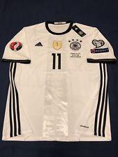 GERMANY UEFA EURO 2016 MARCO REUS SOCCER JERSEY BARCELONA REAL MADRID MEXICO USA
