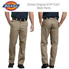 Dickies Men's 874 Flex Original Fit Desert Khaki Classic Work Pants