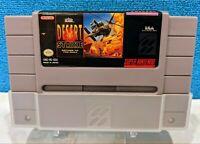 Desert Strike: Return to the Gulf (Super Nintendo, 1992) Cartridge - Tested