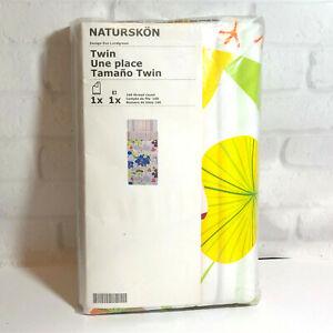 Ikea Naturskon Twin Duvet Cover Pillowcase Set