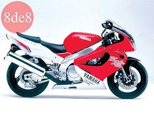 Yamaha YZF 1000 (1997) - Workshop Manual on CD