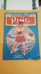 The Ring Boxing Magazine: May 1937. Ken Overlin.