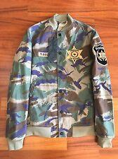 Maharishi x Travis Scott Year Of The Cowboy Tour Jacket Camo Size S New