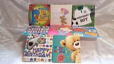 PACK OF 8 CHILDRENS BIRTHDAY CARDS,BOYS/GIRLS BIRTHDAY CARDS(8 DIFFERENT CARDS