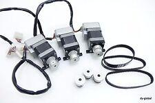 KH42KM2B036 CM1-C-17L30A Integrated Driver AC Step motor Lot of 3 /W Pulley,Belt