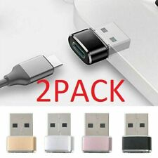 2 PACK USB C 3.1 Type C Female to USB 3.0 Type A Male Port Converter Adapter
