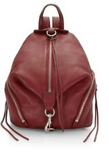 NWT $295 Rebecca Minkoff Large Julian Backpack Handbag Color: Tawny port
