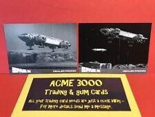 Unstoppable Space 1999 Series 2 Acme3000 Dealer Promo Cards EMP1  EMP2 PROOF SET