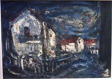 Raoul Joseph Lambert, huile sur toile (v), 1960, Montpellier