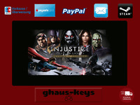 Injustice Gods Among Us Ultimate Edition Steam Download Key Digital [DE] [EU] PC