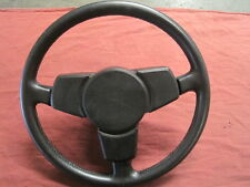 Porsche 911 VINTAGE Steering Wheel 3 Spoke Black Leather USED GERMAN ORIGINAL