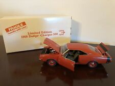 New ListingDanbury Mint 1969 Dodge Charger 500 Limited Edition 1:24 Diecast