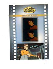Star Trek The Animated Series Micro Cels  MC1  card