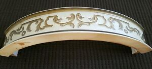 European Rounded Arch Wood Crown Crest Pediment For Restoration Project (hzR01)