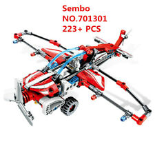 223PCS Sembo Blocks Sailplane Model Kids Building Kids Toys Boys Puzzle Gift