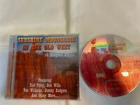 SUNSHINE MOONSHINE IN THE OLD WEST - 15 BLUEGRASS CLASSICS (CD)