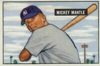 1951 Bowman Mickey Mantle Rookie Card Refrigerator Magnet New York Yankees